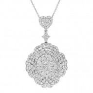 Madison E 5.36ct 18k White Gold Diamond Lady