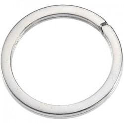 Round Split Key Ring