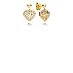Pandora Earring  Style# 267068CZ