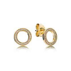 Pandora Earring  Style# 267112CZ