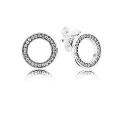 Pandora Earring  Style# 290585CZ