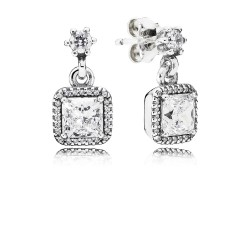 Pandora Earring  Style# 290593CZ