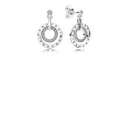 Pandora Earring  Style# 296296CZ