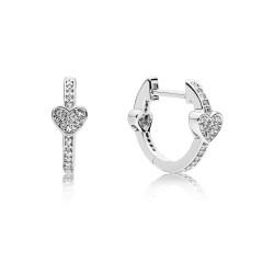 Pandora Earring  Style# 297290CZ