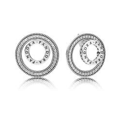 Pandora Earring  Style# 297446CZ