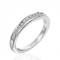 14k White Gold Kimberly Wedding Band