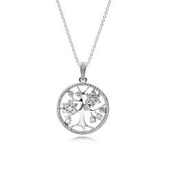 Pandora Necklace  Style# 390384CZ