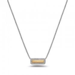 Silver 18Kg Rectangular Firefly Pendant