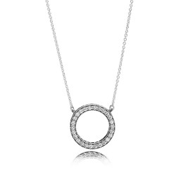 Pandora Necklace  Style# 590514CZ