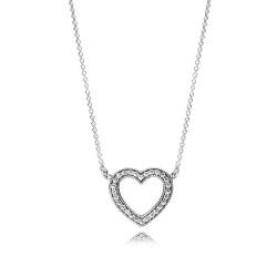 Pandora Necklace  Style# 590534CZ