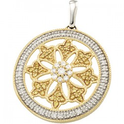 Diamond Ferris Wheel Design Pendant
