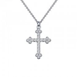 0.35 Cttw Platinum Simulated Diamond Rfg NecklacesRfg