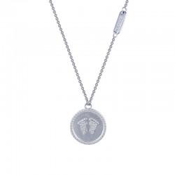 0.62 Cttw Platinum Simulated Diamond Rfg NecklacesRfg