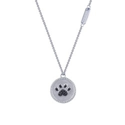 0.56 Cttw Platinum Black Rfg NecklacesRfg