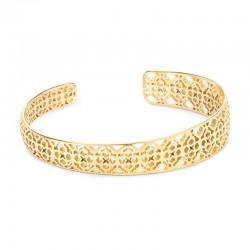Uma Gold Tone Bracelet