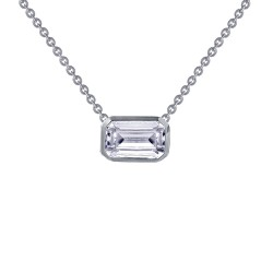 1.99 CTTW Platinum Simulated Diamond Monte Carlo Necklaces