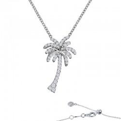 0.66 CTTW Platinum Simulated Diamond Nautical Necklaces