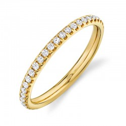 0.40ct 14k Yellow Gold Diamond Eternity Lady