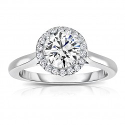 Semi Mount Engagement Ring