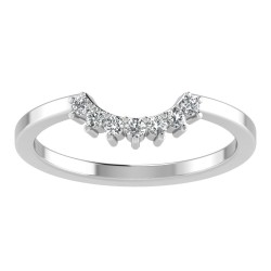 Prong Six Stone Tiara Band