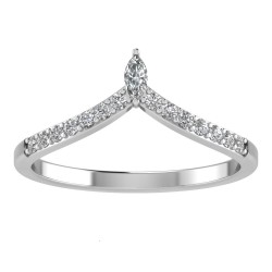 Royal Chevron Tiara Band