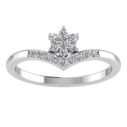 Flower Peak Tiara Band