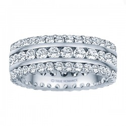 Etr318-14k Yellow Gold Eternity Band