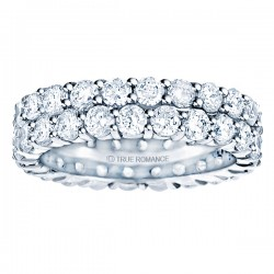 Etr903-14k Yellow Gold Eternity Band