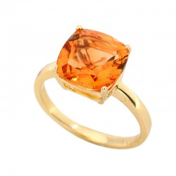EFFY 14K Yellow Gold Citrine Ring