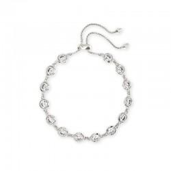 Charlize Cz Rhodium Bracelet