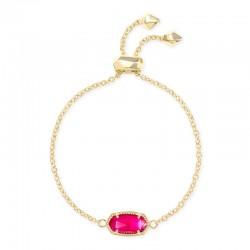 Elaina Azalea Illusion Gold Tone Bracelet