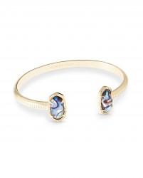 Elton Abalone Shell Rhodium Bracelet