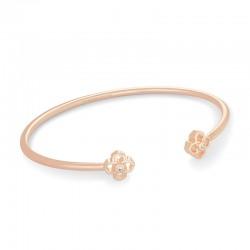 Rue Pinch Cuff Rose Tone Bracelet