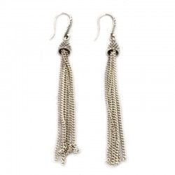 Snake Tassel Earrings From The Classic Collection
