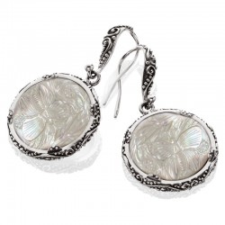 Samantha Drop Earrings From The Mother Of Pearl Collection