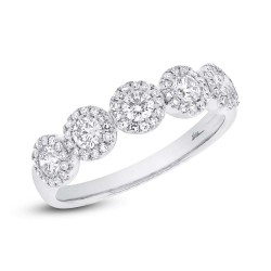 Maddison E 0.57ct 14k White Gold Diamond Lady