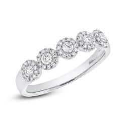 Maddison E 0.40ct 14k White Gold Diamond Lady