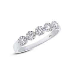 0.25ct 14k White Gold Diamond Lady