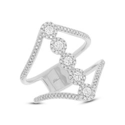 0.56ct 14k White Gold Diamond Lady
