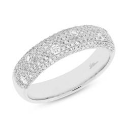 0.63ct 14k White Gold Diamond Lady