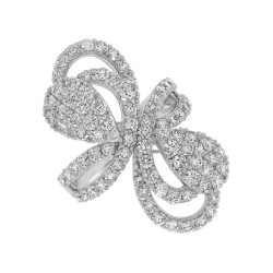 2.93ct 18k White Gold Diamond Lady