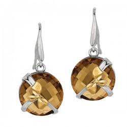 Phillip Gavriel 18k Yellow Gold & Sterling Silver Earrings