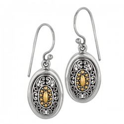 Phillip Gavriel 18k Yellow Gold & Sterling Silver Earrings