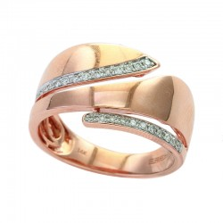 EFFY 14K Rose Gold Diamond Ring