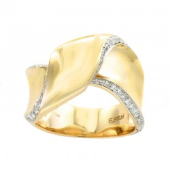 EFFY 14K Yellow Gold Diamond Ring