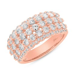 Madison E 1.84ct 14k Rose Gold Diamond Lady