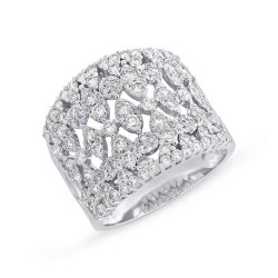 Madison E 1.62ct 14k White Gold Diamond Lady