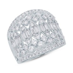 Madison E 2.05ct 14k White Gold Diamond Lady
