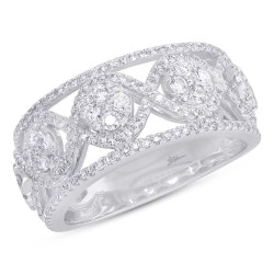 Madison E 0.82ct 14k White Gold Diamond Lady