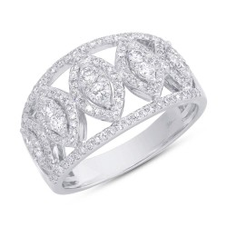 Madison E 0.71ct 14k White Gold Diamond Lady